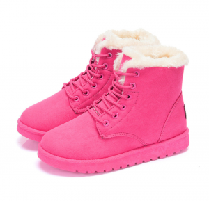 Women Snow Boots Martin Shoes Winter Warm Velvet Shoes