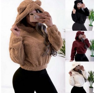 Fashion Women Fluffy Pullovers