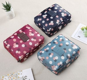 Women's Cartoon Print Cosmetic Storage Bag