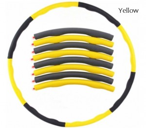 Collapsible Weighted Hula Hoop