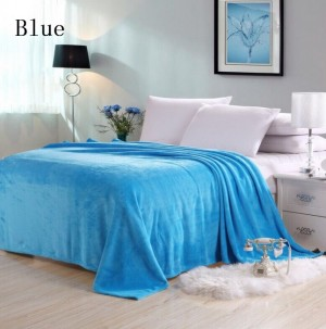 Soft Lightweight Throw Cozy Bed Blanket