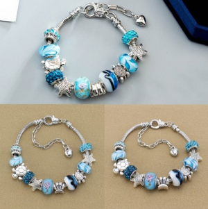 Women Girls Plated Fashion Bracelet