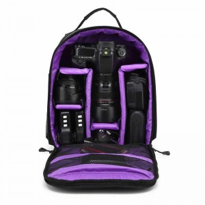 Outdoor Digital Camera Bag Waterproof Anti-theft Backpack