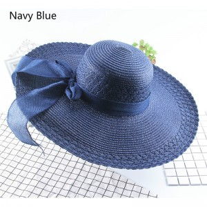 Female Travel Straw Sun Hat