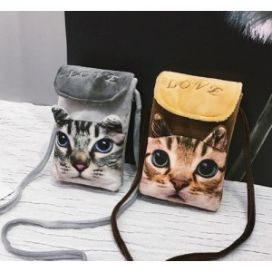 Cat Phone Shoulder Bag