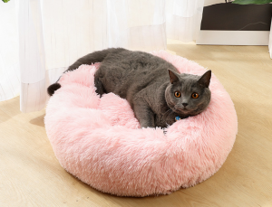 Plush Kennel Pet Sleeping Bed