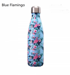 500ML Stainless Steel Print Water Bottle