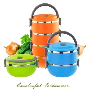 1/2/3/4 Layers Portable Thermal Insulated Food Container