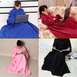 Winter Soft Lazy Warm Blanket Home Cloak Robe