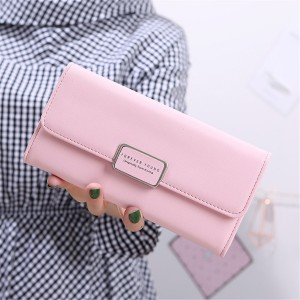 RFID STYLISH LONG BLOCK CARD WALLET
