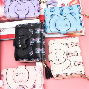 COLORFUL CUTE KITTEN WALLET