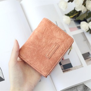 WOMEN SHORT ZIPPER WALLET