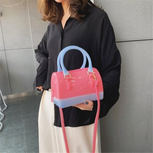CANDY COLOR JELLY BEACH BAG