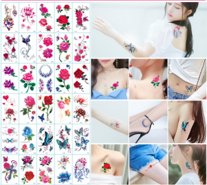 Waterproof Tattoo Temporary Art Sticker