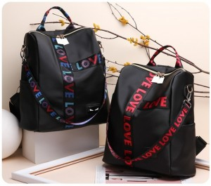 WOMAN PU LEISURE TRAVEL SHOULDER BAG