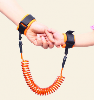 Adjustable Kids Safety Hardness Wrist Leash Anti-lost Rope 1.5m-2.5m