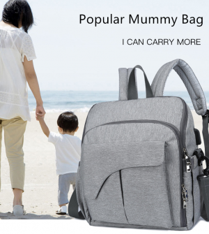 Mummy Diaper Bag Nylon Maternity Backpack