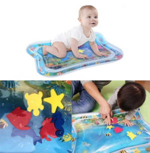 Inflatable Baby Infant Water Mat Funny Playmat