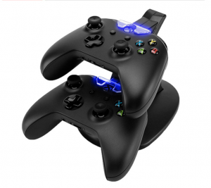 USB Dual Gamepad Charger Controller Charging Station
