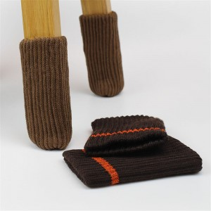Thickened Knitting Chair Leg Protectors