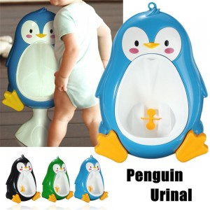 Cartoon Penguin Potty Urinal