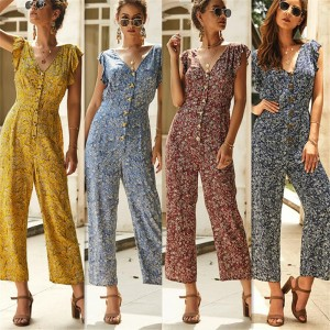 Women's Clubwear Playsuit Party Jumpsuit