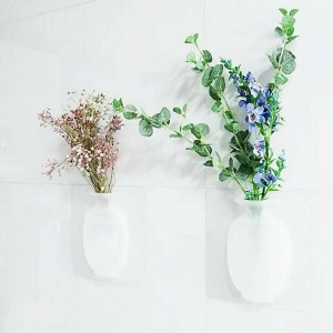 Rubber Silicone Sticky Hanging Vase