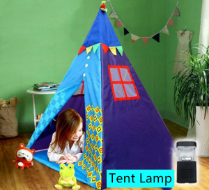 Indian Teepee Tent Kids Home Outdoor Camping With Light