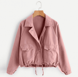 Women Fashion Autumn Short Jacket Cardigan