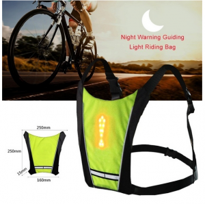 Sports Wireless Remote Control LED Light Warning Vest