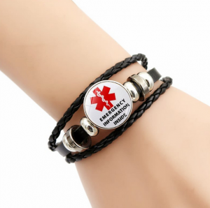 Vintage Leather Braided Bracelet Multi-layer Jewelry Charm Gifts