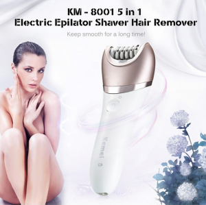 5 in 1 Electric Painless Hair Shaver Lady Removal Trimmer