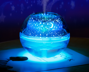 Mini USB Humidifier Star Moon Lamp Spa Beauty Sprayer