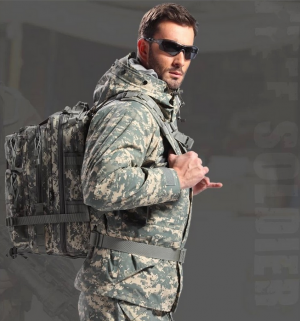 30L Nylon Waterproof Tactical Outdoor Travel Milltary Backpack