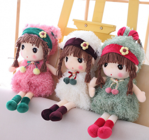 40cm Cute Girls Doll Plush Toys Fairy Kids Birthday Gifts