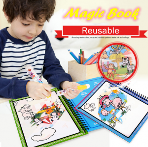 Children Magic Water Album Cartoon Painting Toy Book