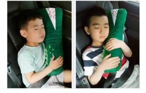Baby Children Car Seat Belt Pad Shoulder Neck Pillow Protector