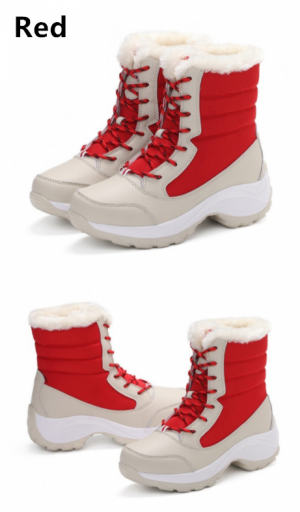 Women's Winter Faux Fur Lined Snow Boots