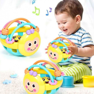 Kids Baby Sound Toys Multicolour Educational Bell Ball