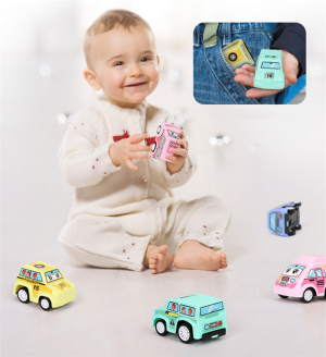 6 Pcs/Set Children Pull Back Car Mobile Vehicle Truck Toys Gifts
