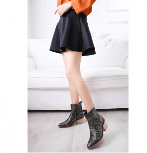 Spring Fashion Women Cowgirl Boots Pointed Toe Shoes