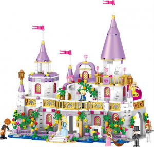 Girls Building Blocks Bricks Children Toys Castle Princess Puzzle