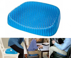 Silicone Gel Seat Cushion Honeycomb Cool Egg Sitter