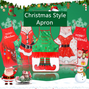 Christmas Kitchen Aprons For Women Xmas Cooking Apron