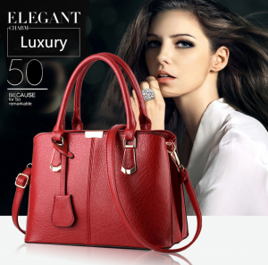 Women Luxury Leather Handbag Satchel Purse Messenger Bag