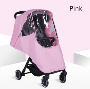 Baby Stroller Rain Cover Waterproof Windproof Carriage Protection