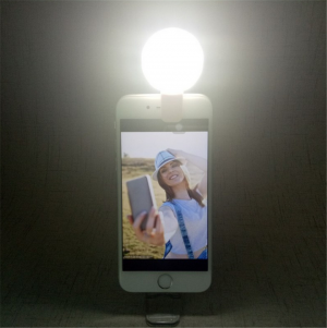 USB Charging Portable Phone LED Light Clip Selfie Lights
