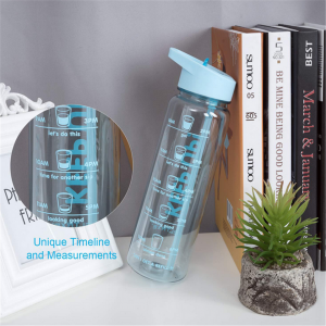 720ml Sport Outdoor Straw Water Bottle