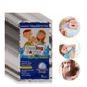 Cooling Patches Fever Down Medical Plaster Ice Gel Pad