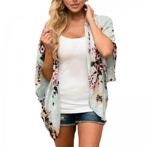 CHIFFON BEACH COVER UP CARDIGAN